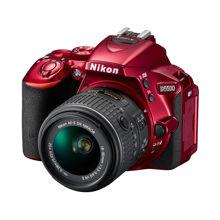 تصویر از Nikon D5500 DSLR - Red