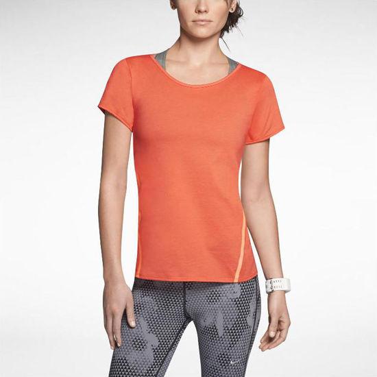 تصویر از Nike Tailwind Loose Short-Sleeve Running Shirt