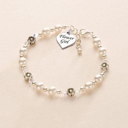تصویر از Flower Girl Bracelet